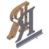 Fabricated Metal - Bottom Angle Bracket