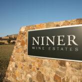 Niner Wine Estates sign
