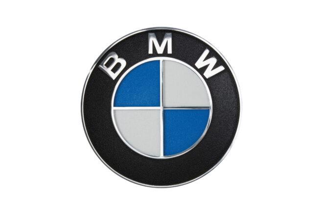 BMW plaque