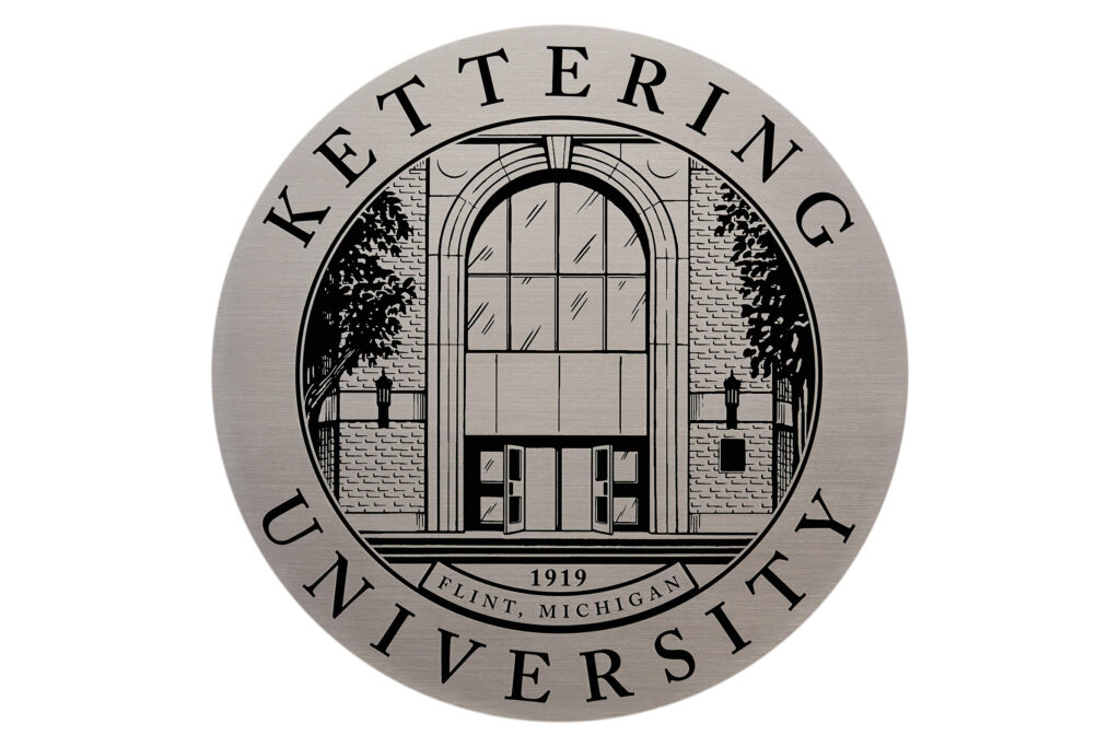Kettering University plaque