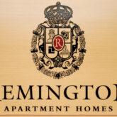Remington Apartment Homes plaque