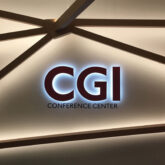 CGI Conference Center sign