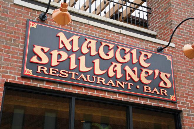 Maggie Spillane's sign
