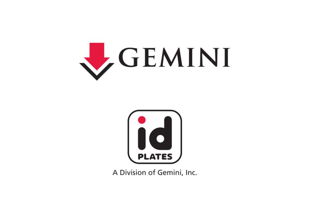 Gemini and ID Plates logos