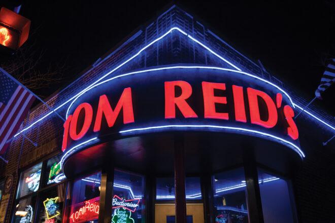 Tom Reid's sign