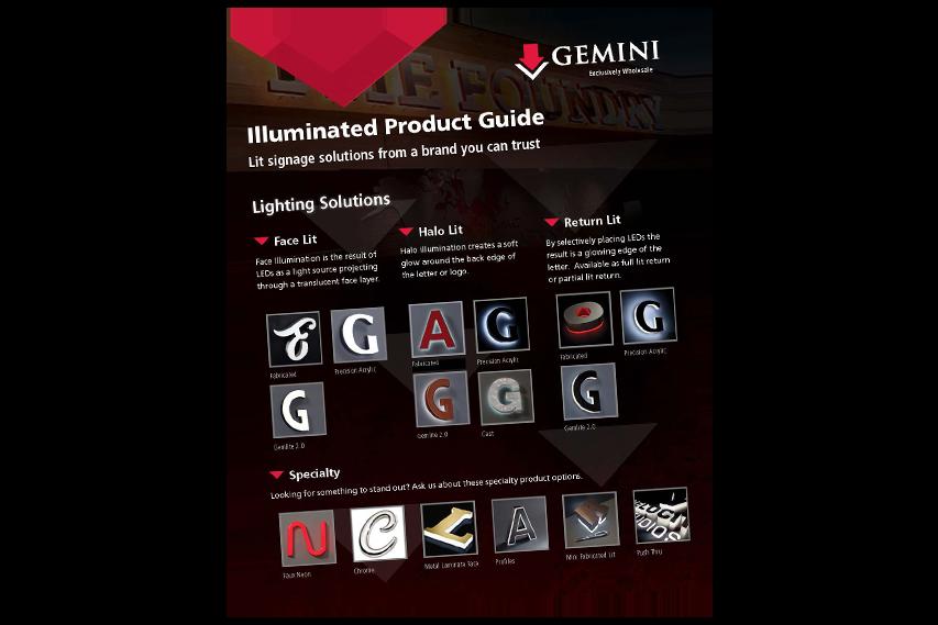Illuminated Product Guide