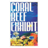 Coral reef exhibit plate