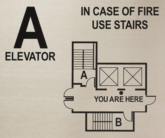 Elevator plate