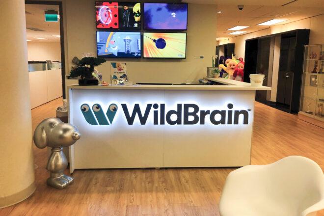 WildBrain sign
