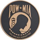 POW MIA Seal